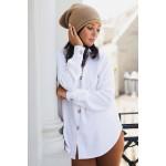 Hnedá pletená čiapka s previsom BK044