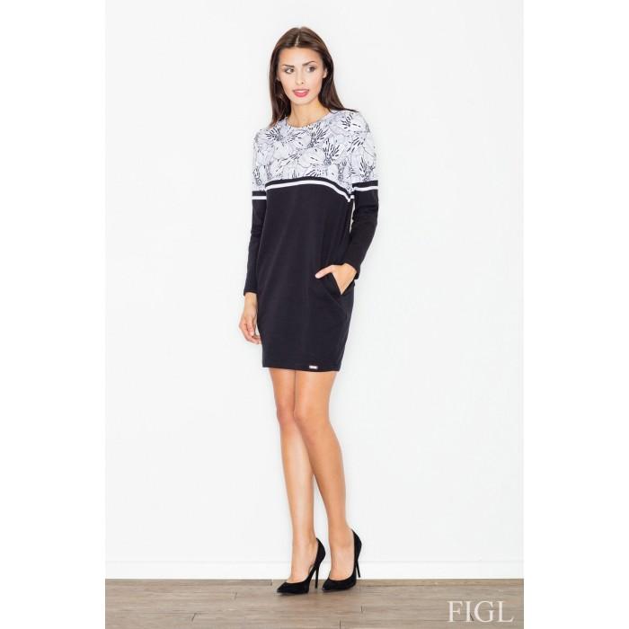 Dámske športové šaty s dlhým rukávom M510 - vzor 27 4115faa1683