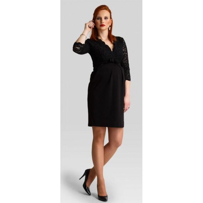 285dd5c4e945 Tehotenské šaty Hypnotic black dress d644b