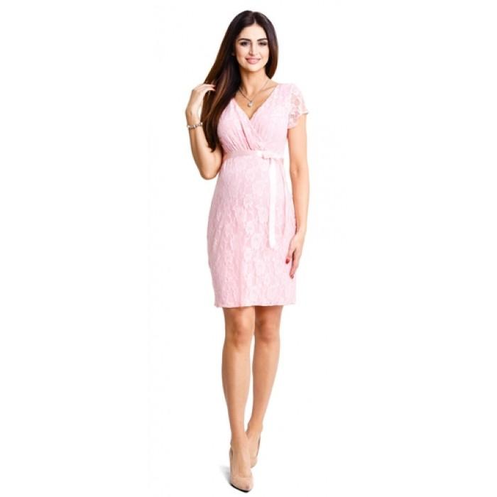 466a826b36e3 Tehotenské šaty Lovely pudre dress d932d