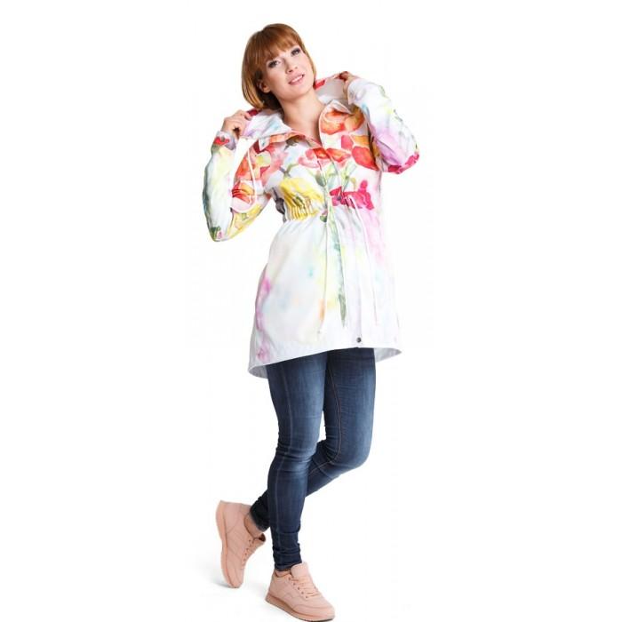 c3e9fe2b10b0 Tehotenská bunda Parka flower jacket (j451)