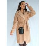 Béžový kabát TEDDY BEAR  MSQ-P08