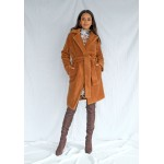 Medový kabát TEDDY BEAR  MSQ-P07