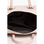 Púdrovoružová elegantná kabelka SB334