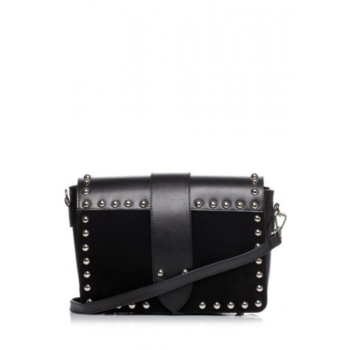 f7d2ded740 Čierna crossbody kabelka s vybíjaním SB400