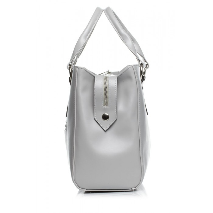 d38292d925cd Dámska elegantná sivá kabelka SB404
