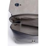 Tmavomodrá kabelka s vybíjaním a uškom SB417
