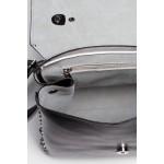 Čierna kabelka s vybíjaním a uškom SB417