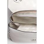 Biela kabelka s vybíjaním a uškom SB417