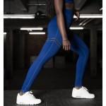 Modré športové legíny FITNESS Trening LEG17