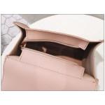 Krémovobiely kabelkový batoh 2v1 s mašľou T75K