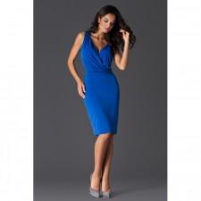 WRAP DRESS - šaty s preloženým dekoltom