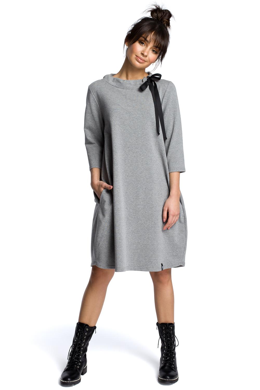 úpletové šaty B070