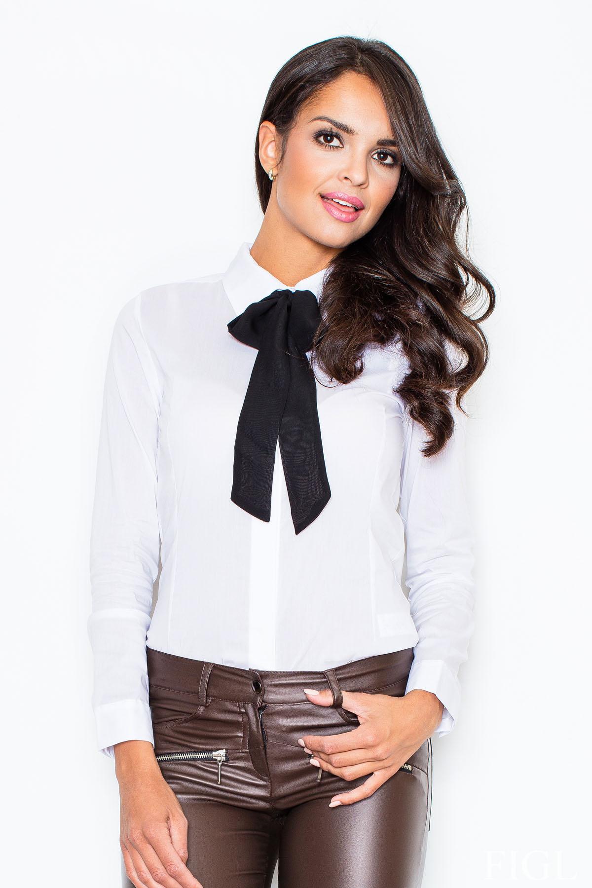 biela košeľa M180
